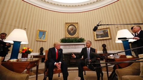 president trump oval office obama trump hold excellent white house meeting after