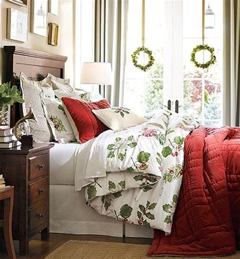 christmas bedrooms inspiring christmas bedroom decorating ideas