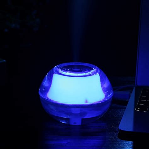 crystal night light humidifier blue jakartanotebookcom