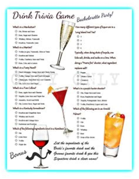 themes drinking games bachelorette party lingerie trivia game instant download