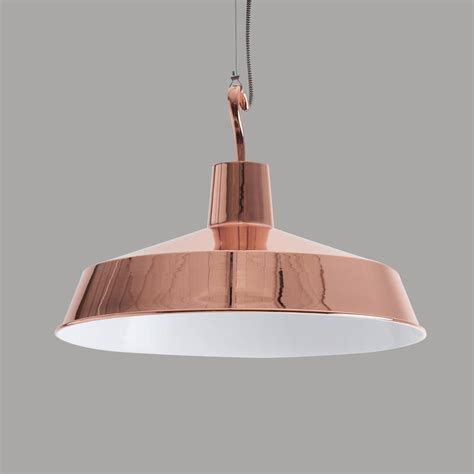 Copper Pendant Light Large Europa Copper Pendant Light By Horsfall Wright Notonthehighstreet