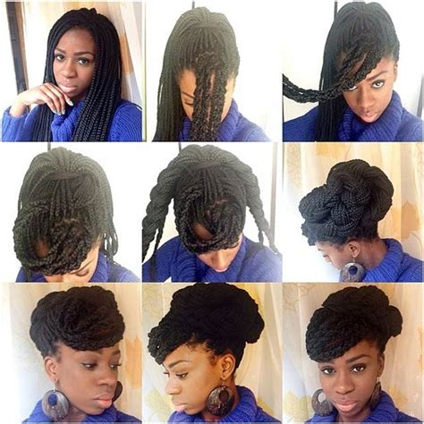 hairstyles for box braids step by step pictures 10 ways to style your box braids this winter black girl
