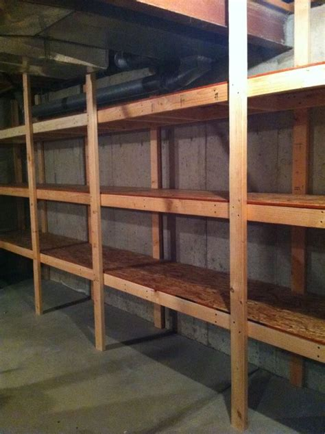 building basement shelves 25 best ideas about basement storage shelves on diy storage shelves storage
