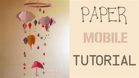 Make A Paper Mobile - paper mobile tutorial