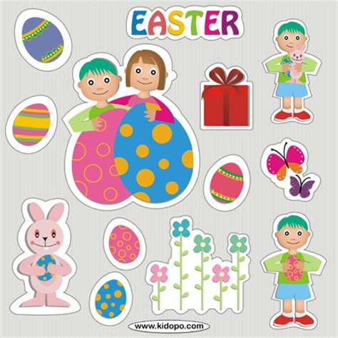 Printable Easter Stickers | printable easter stickers