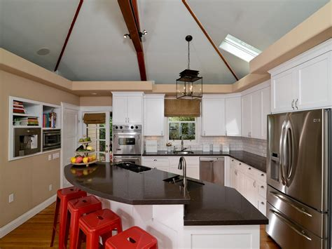 Vaulted Ceiling Kitchen Ideas How To Decorate Kitchen Walls Pictures Ideas From Hgtv