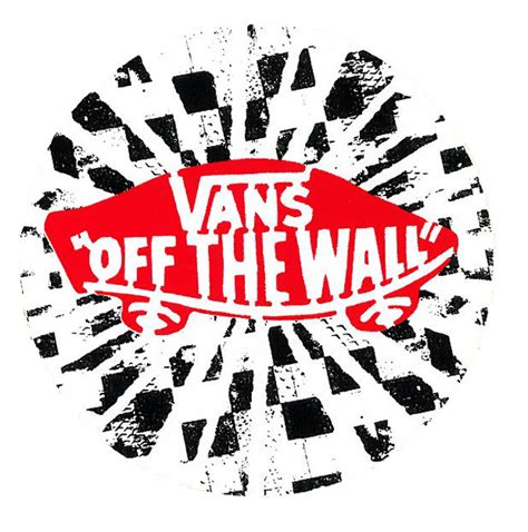 vans the wall sticker 楽天市場 vans the wall circle sticker unsteady