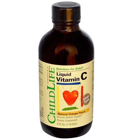 Childlife Liquid Vitamin C childlife essentials liquid vitamin c orange