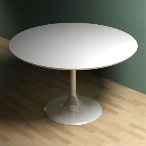 saarinen dining table 3d model formfonts 3d models