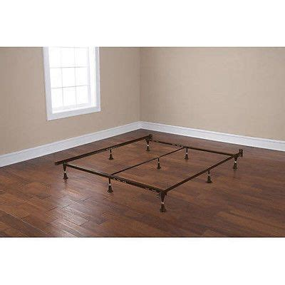 Point feet metal bed frame rail twin full queen size new ebay