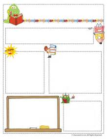 Free Monthly Newsletter Templates For Teachers by Newsletter Templates Woo Jr Activities