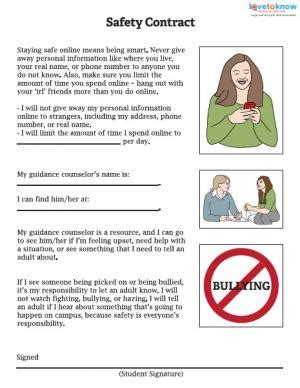 Health And Safety Worksheets For Students by Back To School Safety Worksheets Lovetoknow