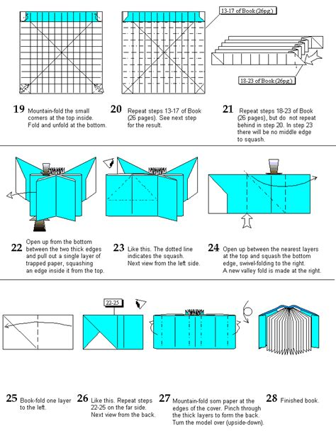 Origami Site - origami 36 page book