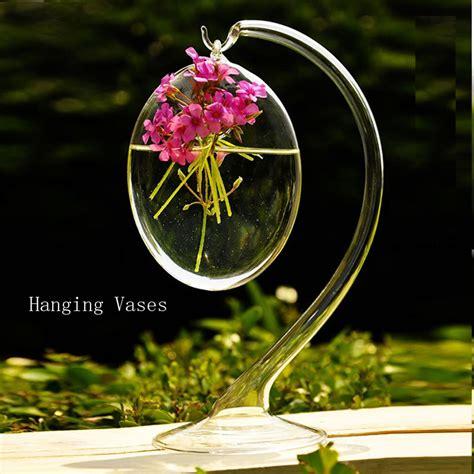 decoracion floreros de cristal compra decorativos floreros de vidrio transparente