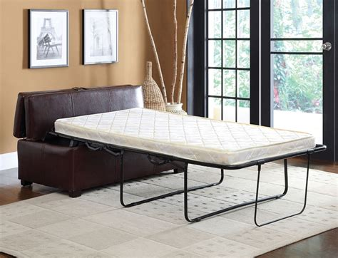ottoman with pull out bed furniture of america ottoman in brown with pull out bed