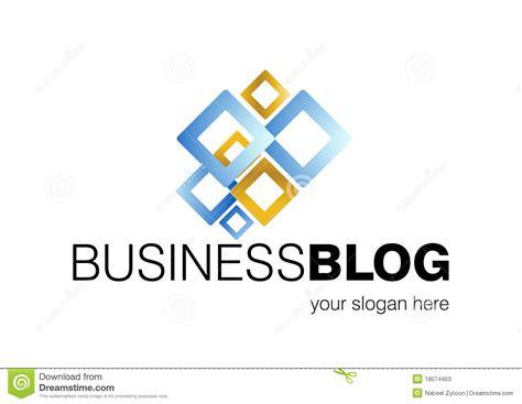 design a logo for your blog business blog logo design stock vector illustration of