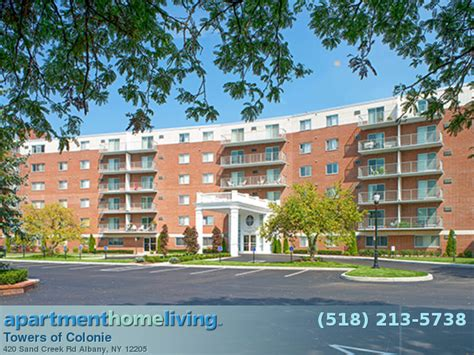 albany appartments towers of colonie apartments albany apartments for rent