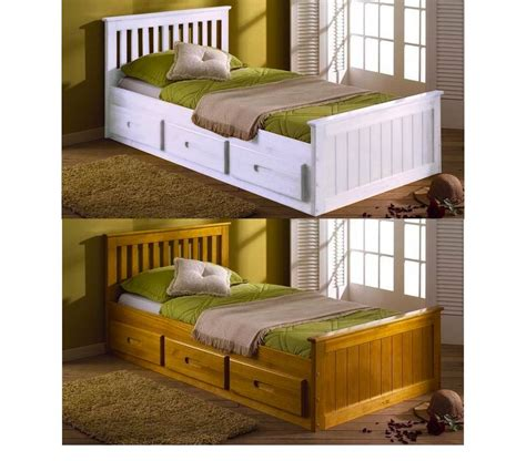 Childrens Bed With Drawers by Toddler Bed With Storage Drawer Wood Best Toddler Bed