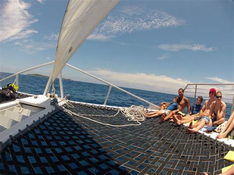buck island catamaran sail and snorkel snorkel guide amber picture of cruise ship excursions