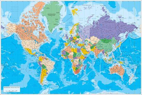 mapamundi fisico politico mapas posters mundo y espa a digital cartography maps ans plans