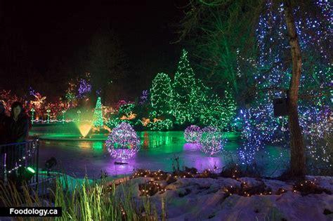 festival of lights at vandusen botanical garden review