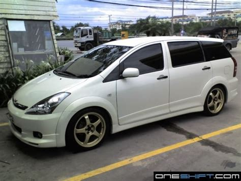 toyota wish bodykit singapore toyota wish toyota wish 2003 trd driver s parking lot