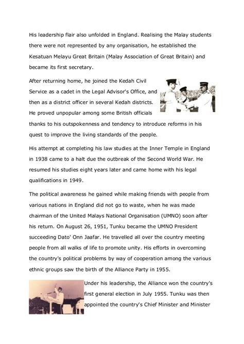 Essay Biography Of Tunku Abdul Rahman | essay biography tun abdul razak pgbari x fc2 com