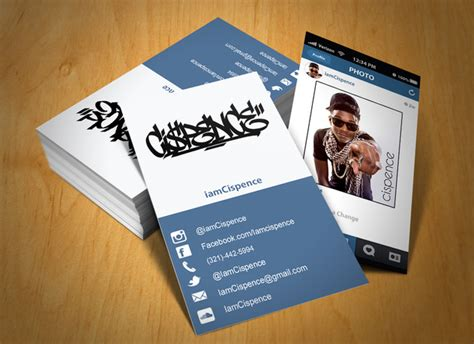 Instagram Card Template by Instagram Business Card αναζήτηση Ss