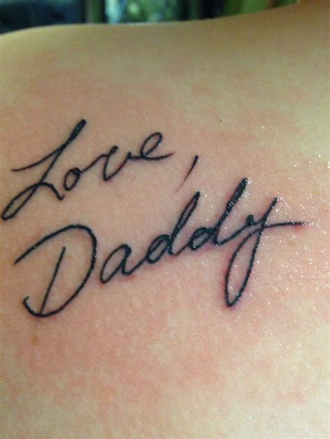handwriting tattoo best 25 handwriting tattoos ideas on