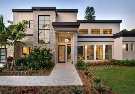 modern florida home plans home plan
