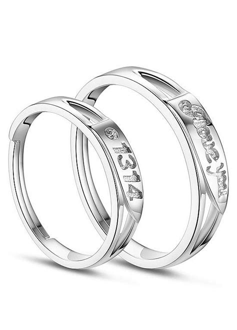 925 Sterling Silver Engraved Ring 925 sterling silver engraved rings platinum 18