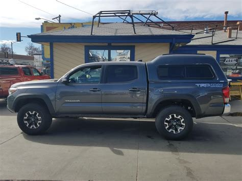 Topper For Toyota Tacoma 2017 Tacoma Mx Series 1g3 Suburban Toppers