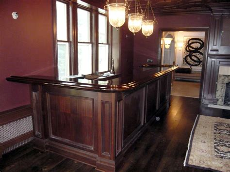 free home bar building plans
