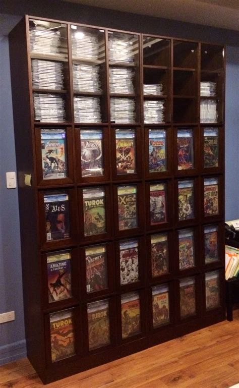 Comic Book Storage Cabinet Best 25 Comic Book Display Ideas On Cave Ideas Comic Room And Cave