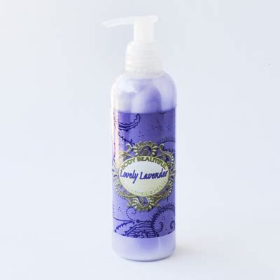 Lovely Handbody 250ml brunational cosmetic and skin care manufacturers lovely lavender lotion enriched
