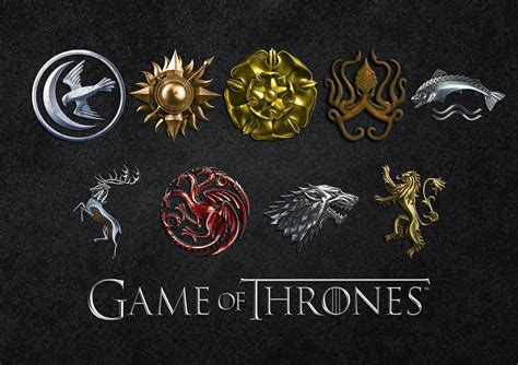 houses in game of thrones game of thrones house sigil folder icons by katsy0 on deviantart