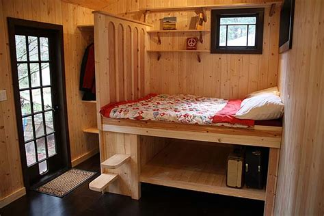 Tiny House Without Loft by Tony S Hornby Island Caravan