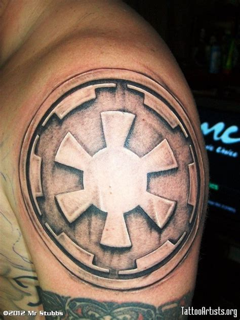 empire tattoos galactic empire