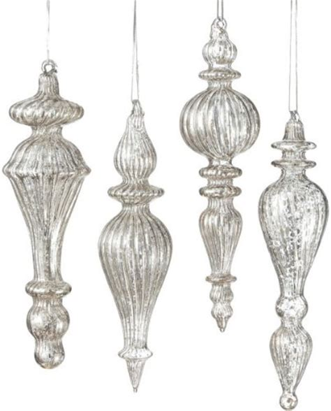 best mercury glass christmas decorations and ornaments for