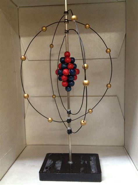 hanging bohr model atom model project bohr model atom