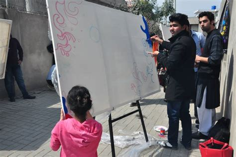 glow in the paint lahore graffiti painting competition in pifd pictures learningall