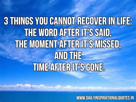 moment in the word daily moments that feed your soul books 3 things you cannot recover in quotes