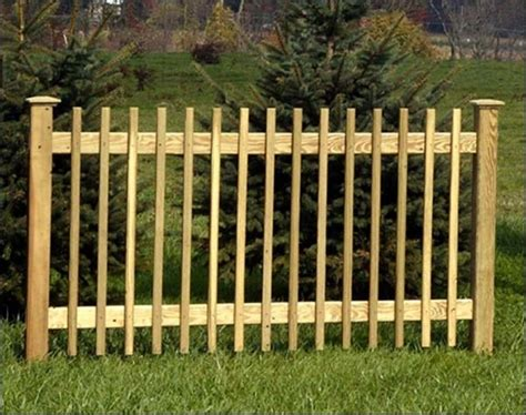 wood picket fence panels goenoeng
