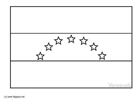 bandera de venezuela para colorear para imprimir gratis malvorlage venezuela ausmalbild 6363