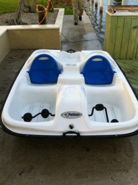 pelican paddle boat boats for sale - Pelican Paddle Boat Used