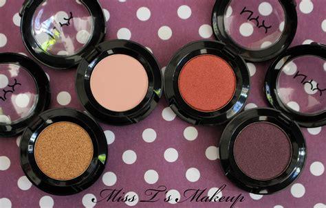 Eyeshadow Dompet Nyx nyx singles eye shadows miss t s makeup