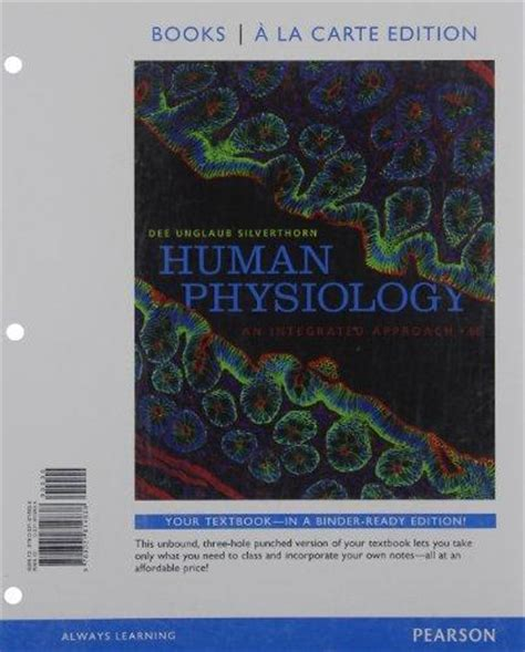 human physiology an integrated approach 6th edition human physiology an integrated approach books a la carte