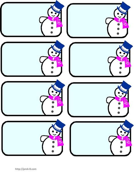 free printable name tags for work snowman name tags winter wonderland pinterest