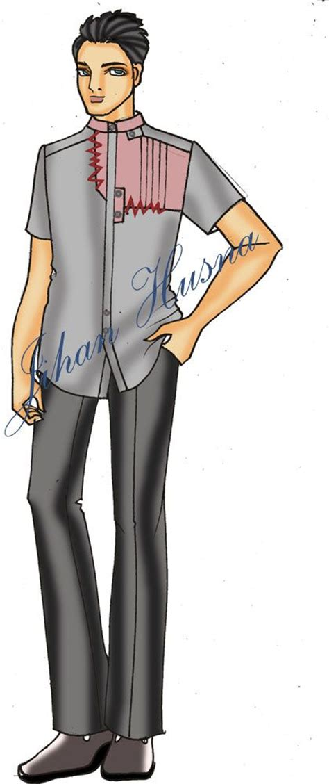 desain sketsa dress wanita desain kemeja pria desain kemeja pria pinterest d