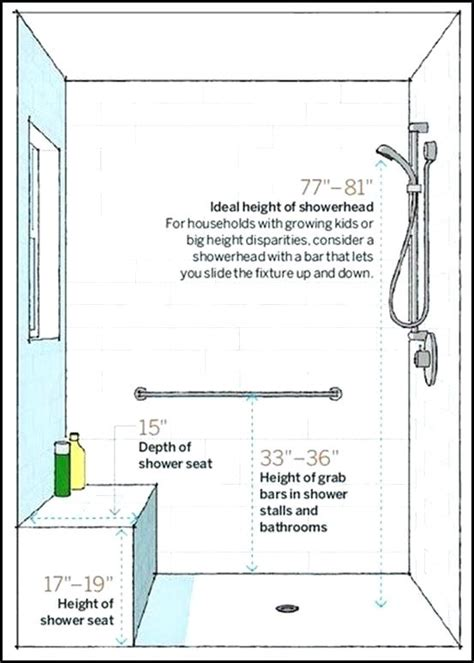 shower stall bench height shower seat dimensions contemporary the best